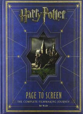 BOOK HARRY POTTER PAGE TO SCREEN: THE COMPLETE FILMMAKING JOURNEY. LIBRO HARRY POTTER DEL LIBRO A LA PANTALLA