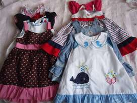 lote de vestidos niña