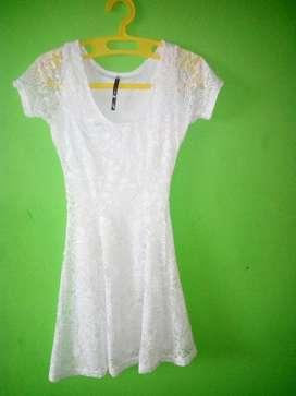 Hermoso Vestido Blanco