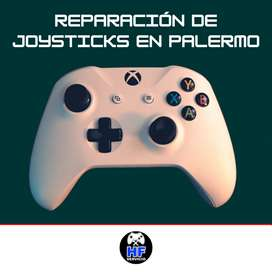 Reparación de joysticks PS4 y Xbox One en Palermo