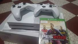Usada Xbox one s 1000gb 2 controles y pes 19
