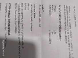 Carroceria  Kia  k2700 ,doble cabina