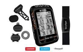 Bryton Rider 450t Computadora Gps Para Ciclismo Con Sensores