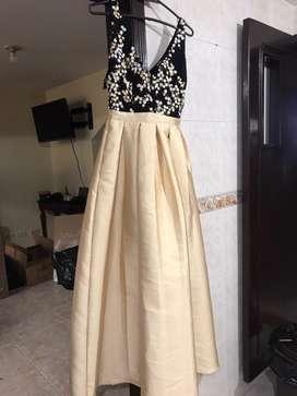 Vestido largo elegante 1 solo uso