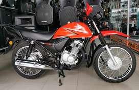 Moto Honda GL125 Poco recorrido como nueva
