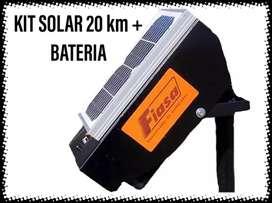Kit Electrificador solar 20 km