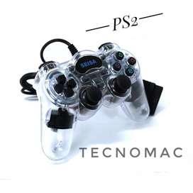 Joystick PS2 analógico transparente