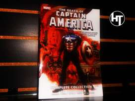Marvel, The Death Of Captain America, Capitán América, Comic Monster Edition, Complete Collection En Ingles, 500 Paginas