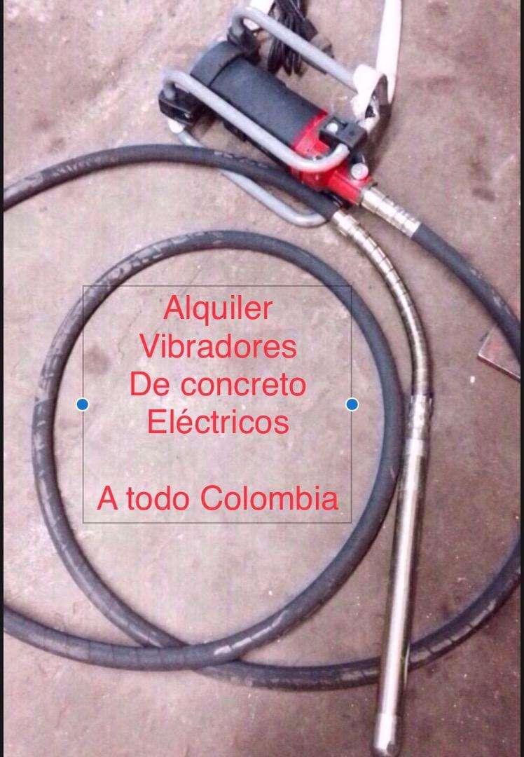 Ahora vibrar concreto facil vibradores electricos en alquiler