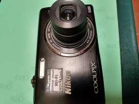 Cámara Nikon coolpix s5200