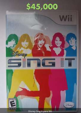 Disney Sing It para Wii