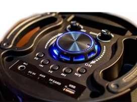 Parlante karaoke bluetooth