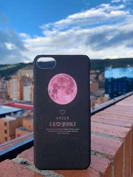 Case iPhone 7/8, X/xs - Luna Rosada - I Love You