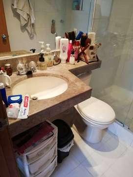 Taza baño - lavamanos - marmol