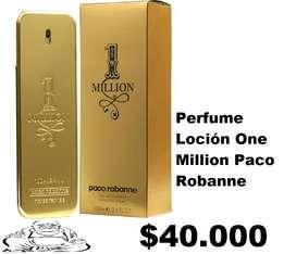 Perfume Colonia Loción One Million Pacco Rabae