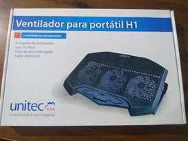 Base Refrigerente para portátil UNITEC