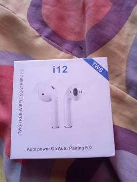 Audífonos inalámbricos i12 tws