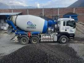 Alquilo camion mixer 8m3