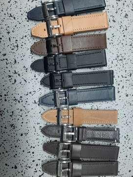 Pulsos en cuero originales para reloj fossil