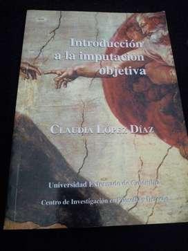 LIBRO INTRODUCCIÓN A LA IMPUTACIÓN OBJETIVA
