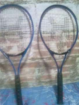 Se vende raquetas de tenis en perfecto estado
