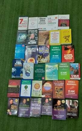 Libros nuevos de negocios, autoayuda y espirituales