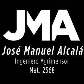Ingeneniero Agrimensor: Estado Parcelario- Amojonamiento- Mensura- PH