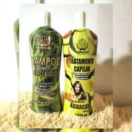 Combo shampoo y tratamiento