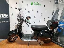Moto Eléctrico Sunra Vintage Litio / Modo Eléctrico