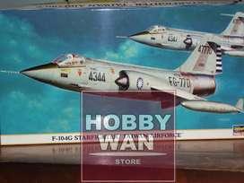 Modelo a escala Avión F-104G escala 1/48 marca Hasegawa