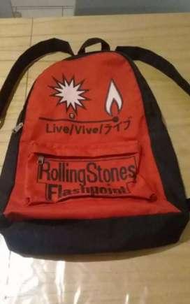 Mochila Rolling Stones Flash Point Con Un Bolsillo Impecable