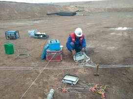 Estudios de agua subterranea para pozos profundos