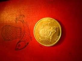 Medalla ofvisita apostolica de ss juan pablo ii Colombia 1986
