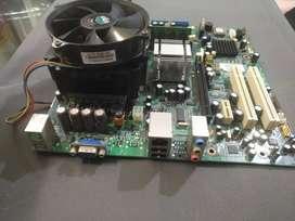 Combo de Board ddr2 con 4 Gb de RAM, Y mas