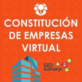 CONSTITUCIÓN DE EMPRESAS VIRTUAL | CONTADOR VIRTUAL | ESTUDIO CONTABLE VIRTUAL