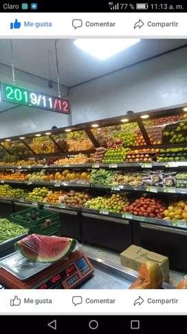Muebles para fruver y supermercados