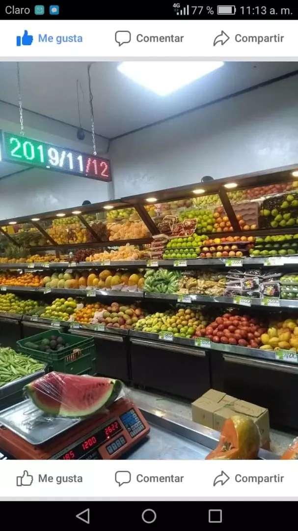 Muebles para fruver y supermercados 0