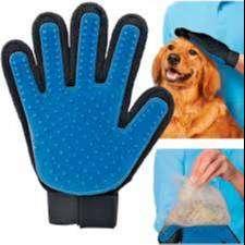 guante quita pelo, elimina todo exceso de pelo de tu mascota, puntas de silicona suave para ellos
