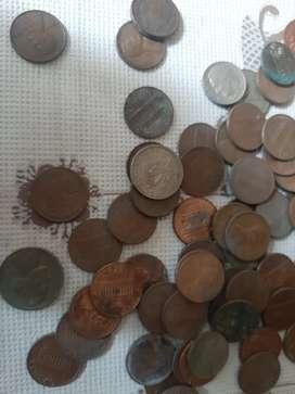 Moneda de one cent Americano