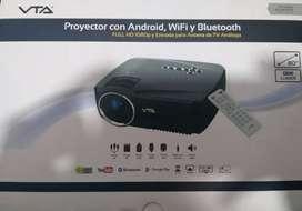 Vendo proyector video beam VTA con wifi, bluetooth perfecto estado