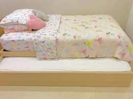 Vendo cama sencilla con cama auxiliar