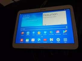 Tablet Samsung galaxy tab3 10.1 con detalle