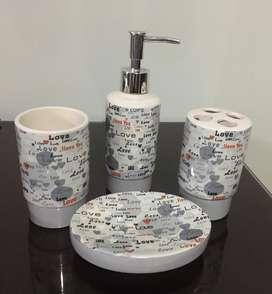 Juego de Baño en Ceramica