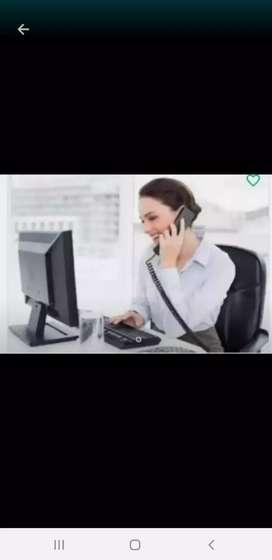 Busco empleo de secretaria o recepcionista