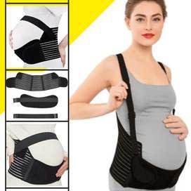 Faja materna prenatal durante el embarazo tirantas soporte abdomen