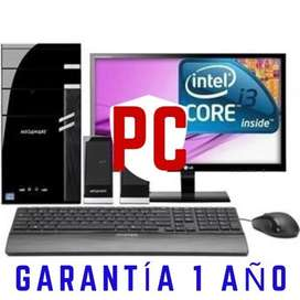 Gran Promoción Pc Intel I3 con Garantía