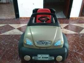 Carro para niño de baterias