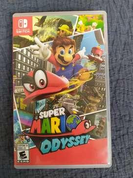 Venta videojuego Super Mario Odyssey