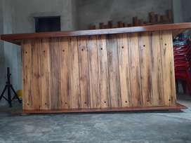 Barra Bar de Madera Moderna