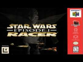 Star war episodio 1 racer Nintendo 64